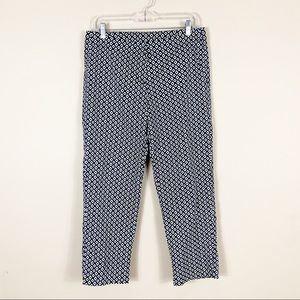CAbi | Diamond Print Ankle Pants